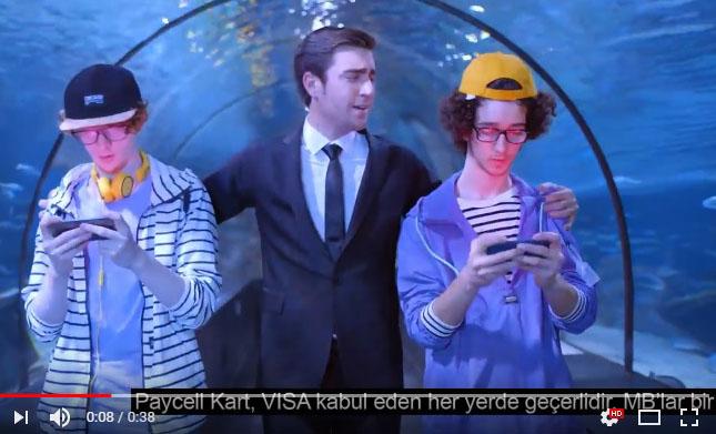 Oyuncumuz Sezgin Gürleyen, Turkcell Paycell reklamýnda yer aldý - IMC AJANS