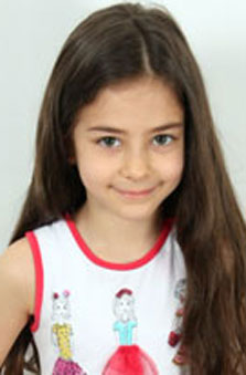 Kýz Çocuk Manken - Azra Nur Kurnaz