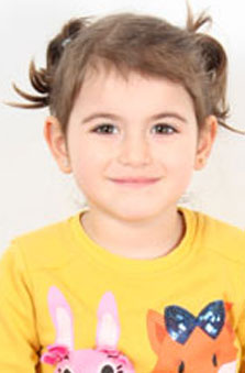 5 Yaþ Kýz Çocuk Manken - Asya Mira Yalçýnkaya