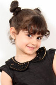 6 Yaþ Kýz Çocuk Oyuncu - Adriana Baysu