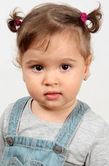 2 Yaþ Kýz Çocuk Manken - Almina Bayrak