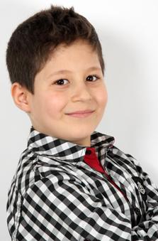 8 Yaþ Erkek Çocuk Manken - Abdurrahman Yusuf Toktamýþ