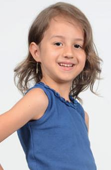 6 Yaþ Kýz Çocuk Oyuncu - Ela Melis Orsoy