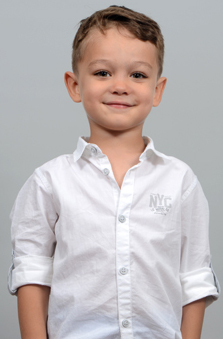 5 Yaþ Erkek Çocuk Manken - Ahmet Ege Sezer