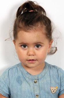 2 Yaþ Kýz Çocuk Manken - Alya Deren Köse