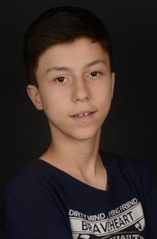 14 Yaþ Erkek Çocuk Manken - Ahmet Ceyhun Bayar