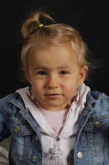 2 Yaþ Kýz Çocuk Manken - Mila Cinkýlýç