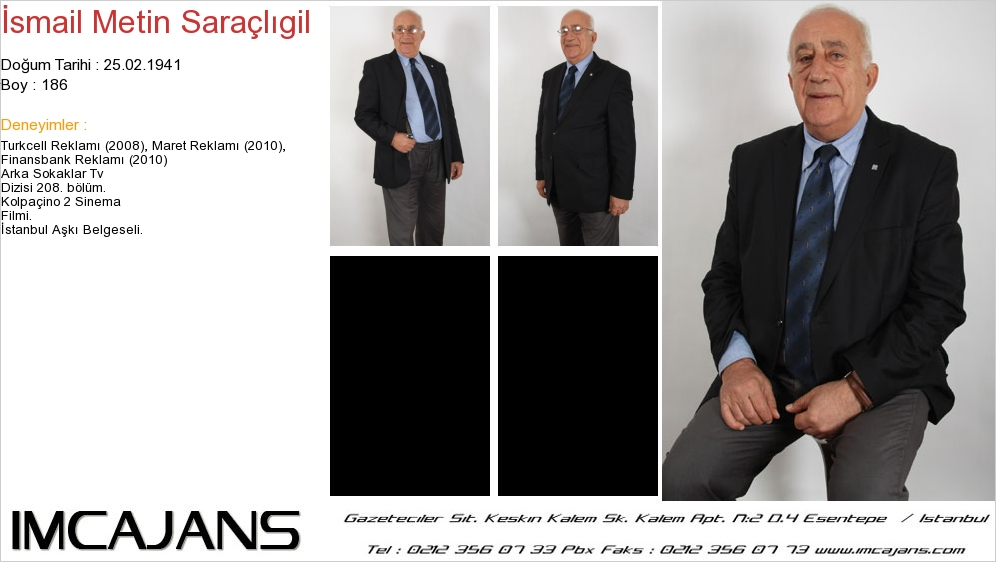 Ýsmail Metin Saraçlýgil - IMC AJANS