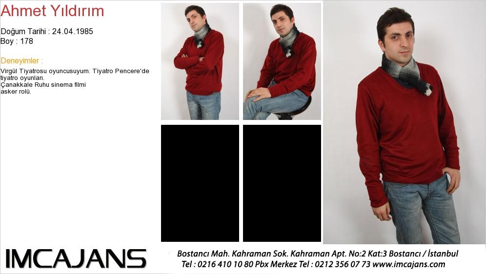Ahmet Y�ld�r�m - IMC AJANS