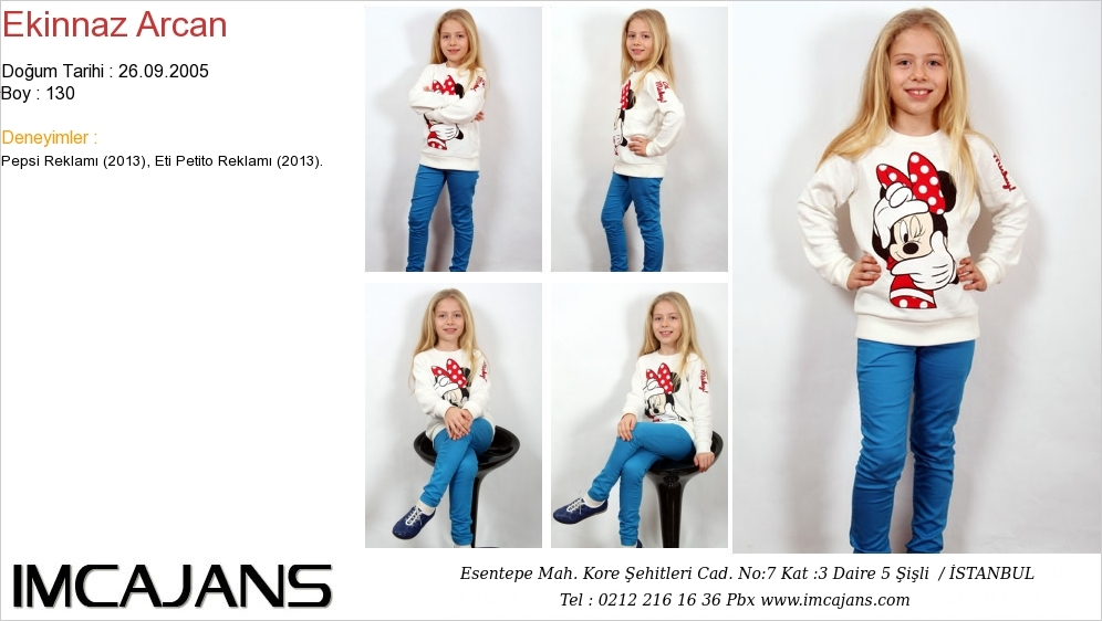 Ekinnaz Arcan - IMC AJANS