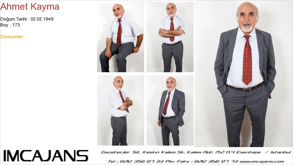 Ahmet Kayma - IMC AJANS