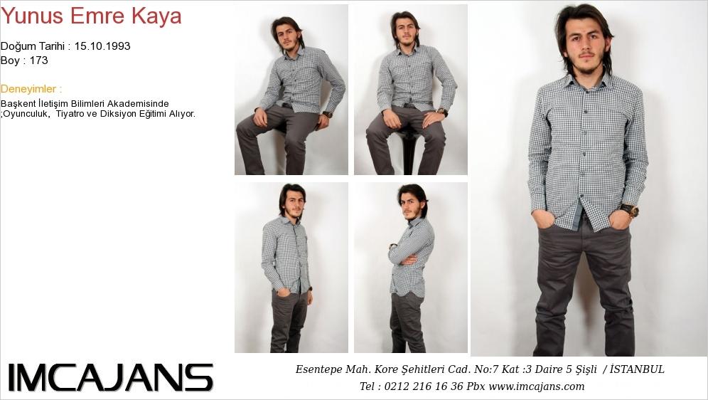 Yunus Emre Kaya - IMC AJANS
