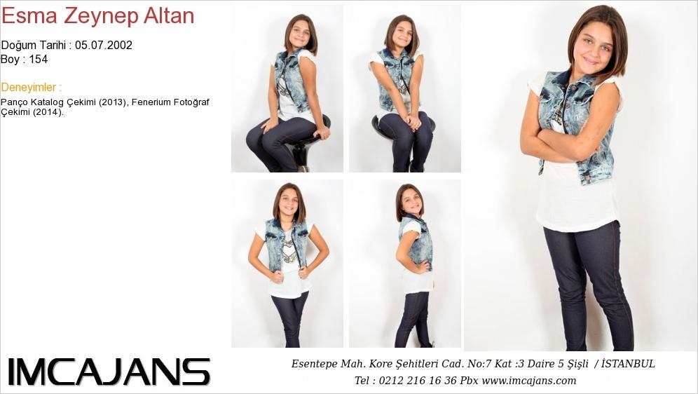 Esma Zeynep Altan - IMC AJANS