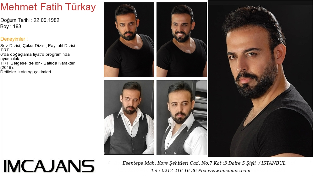 Mehmet Fatih Türkay - IMC AJANS