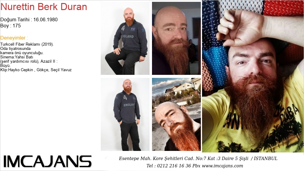 Nurettin Berk Duran - IMC AJANS