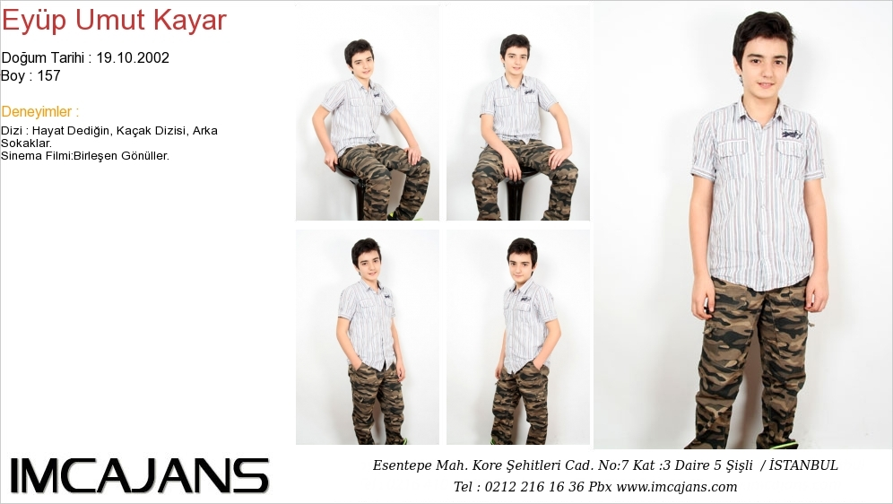 Ey�p Umut Kayar - IMC AJANS