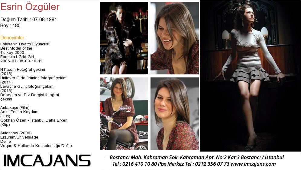 Esrin Özgüler - IMC AJANS