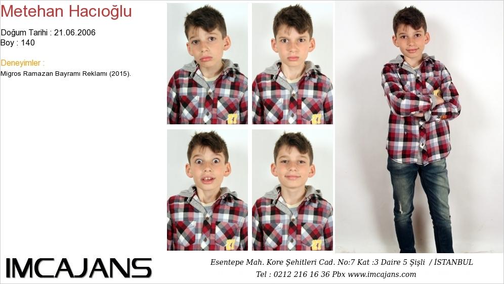Metehan Hac�o�lu - IMC AJANS