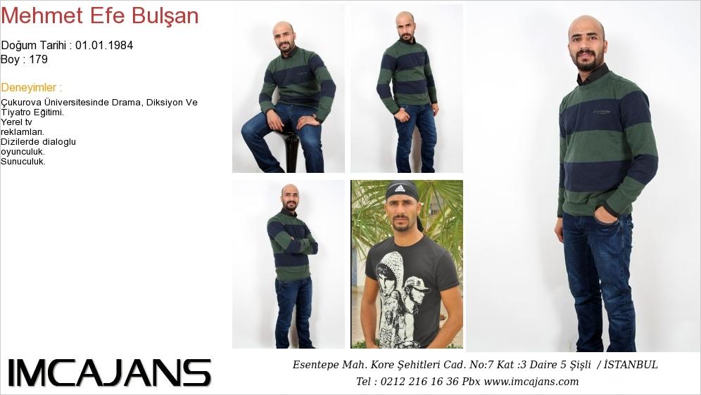 Mehmet Efe Bulþan - IMC AJANS