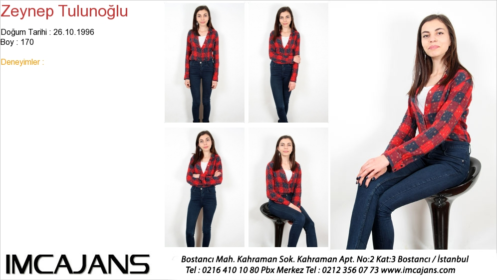 Zeynep Tulunoðlu - IMC AJANS