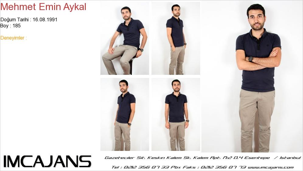 Mehmet Emin Aykal - IMC AJANS