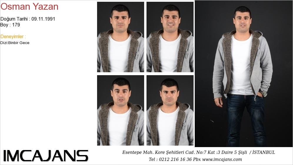 Osman Yazan - IMC AJANS