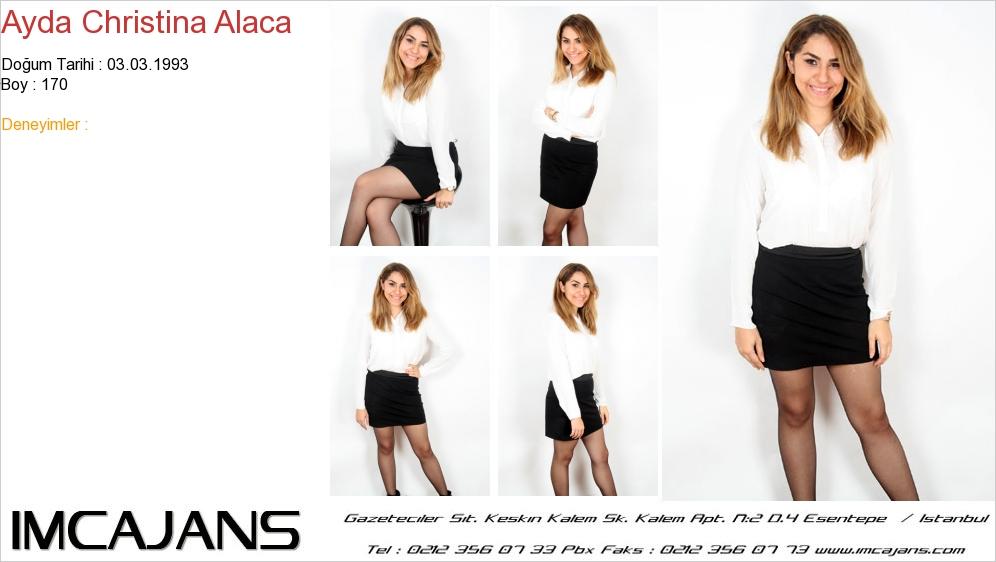Ayda Christina Alaca - IMC AJANS