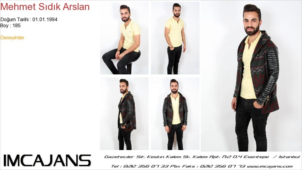 Mehmet S�d�k Arslan - IMC AJANS
