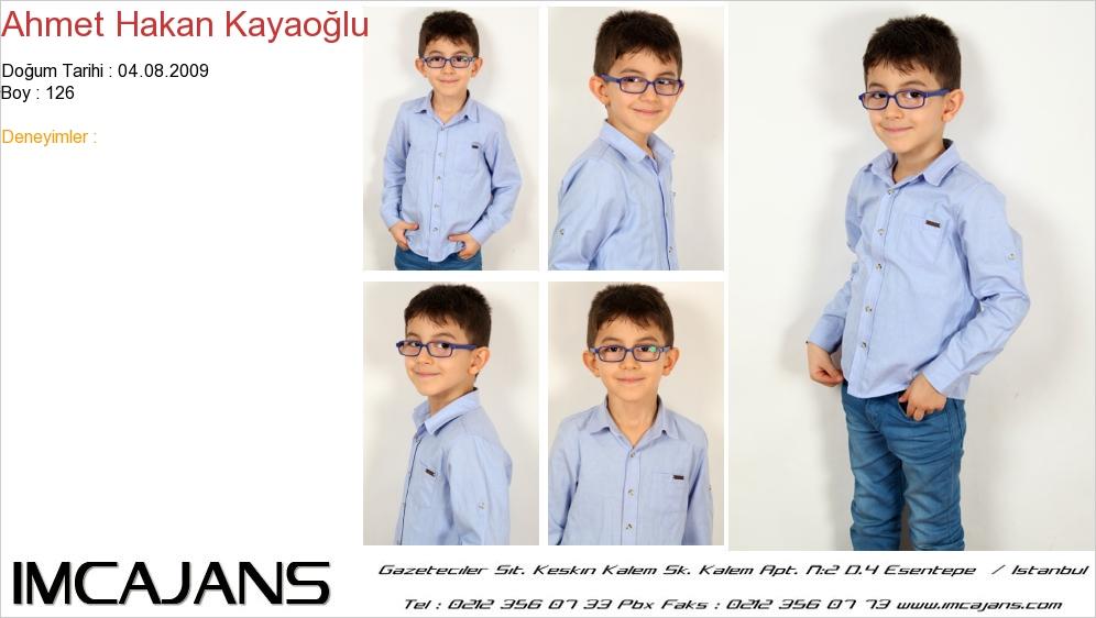 Ahmet Hakan Kayao�lu - IMC AJANS
