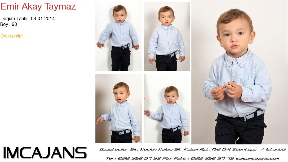 Emir Akay Taymaz - IMC AJANS