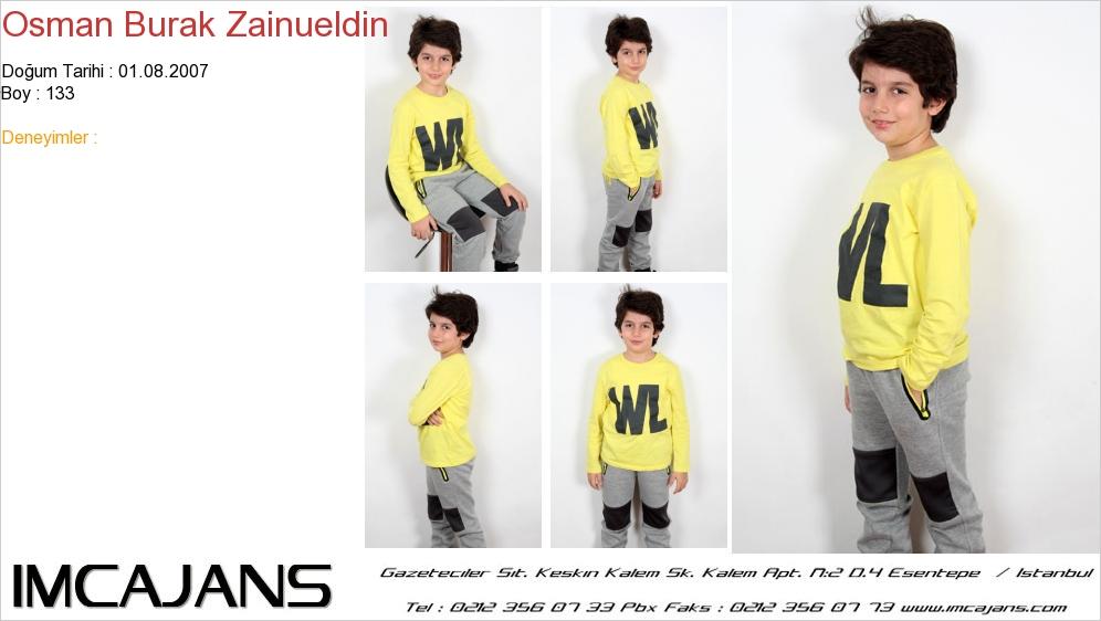 Osman Burak Zainueldin - IMC AJANS