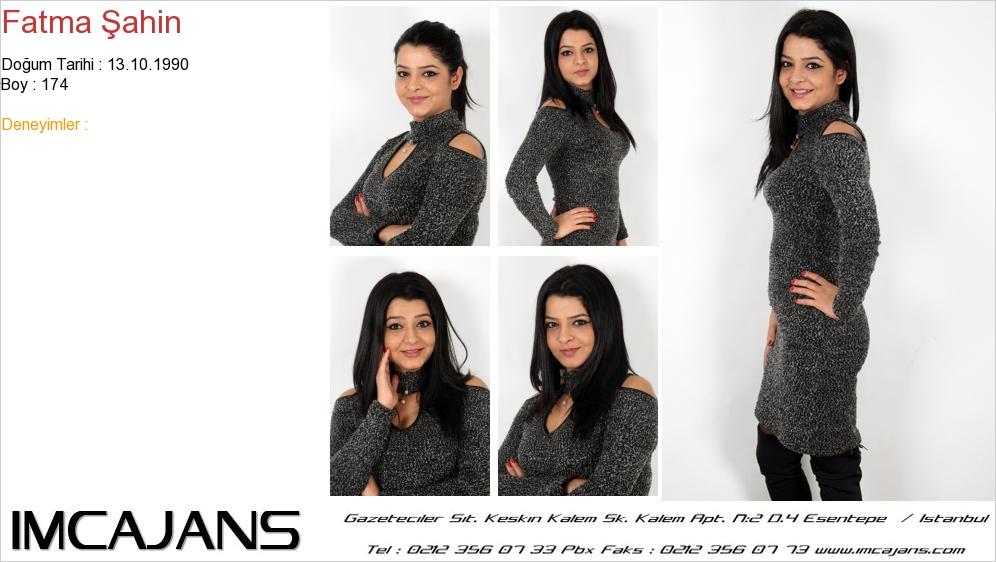 Fatma �ahin - IMC AJANS