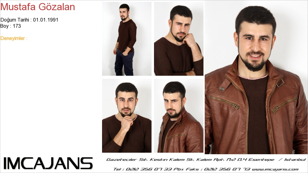 Mustafa G�zalan - IMC AJANS