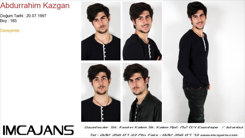 Abdurrahim Kazgan - IMC AJANS