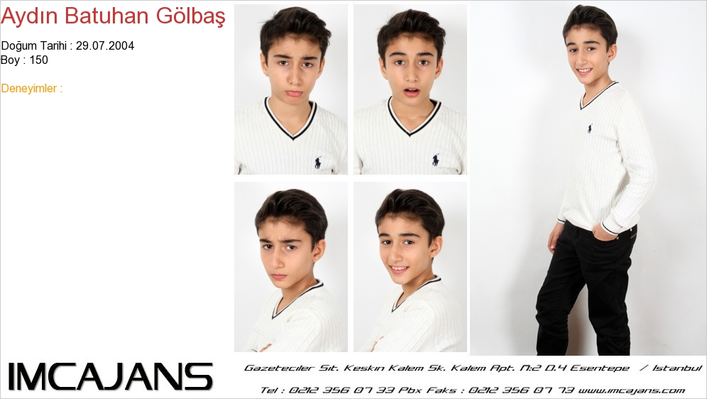 Ayd�n Batuhan G�lba� - IMC AJANS