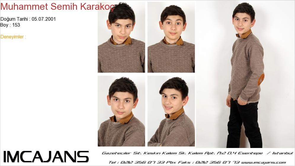 Muhammet Semih Karakoç - IMC AJANS
