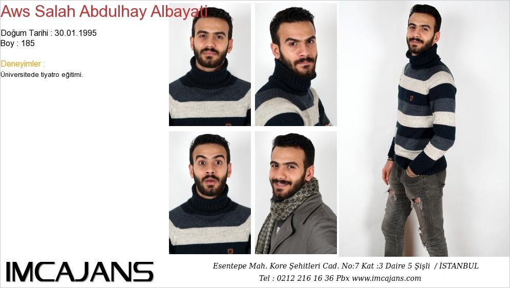 Aws Salah Abdulhay Albayati - IMC AJANS