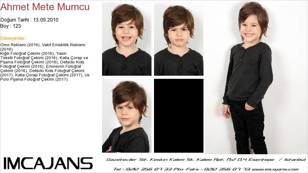 Ahmet Mete Mumcu - IMC AJANS