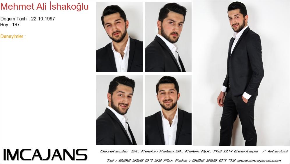 Mehmet Ali �shako�lu - IMC AJANS