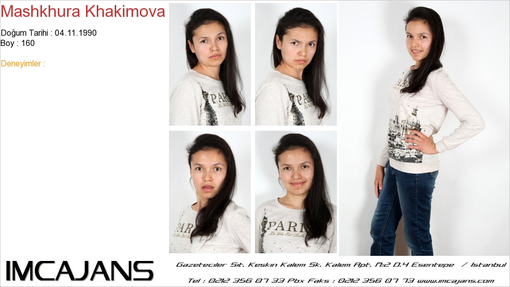Mashkhura Khakimova - IMC AJANS