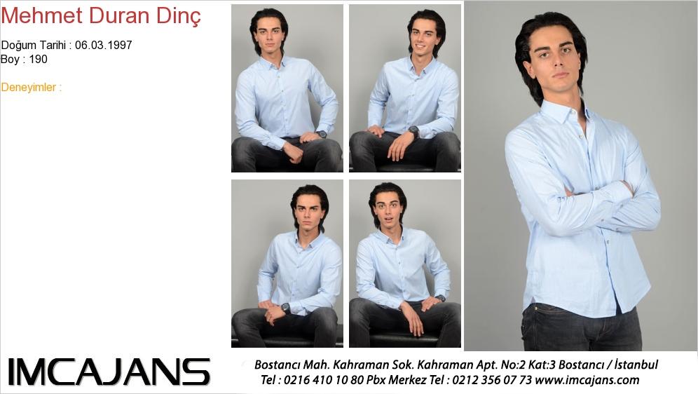 Mehmet Duran Din� - IMC AJANS