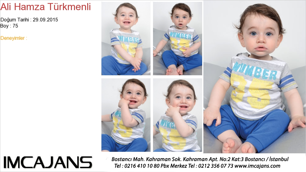 Ali Hamza Türkmenli - IMC AJANS