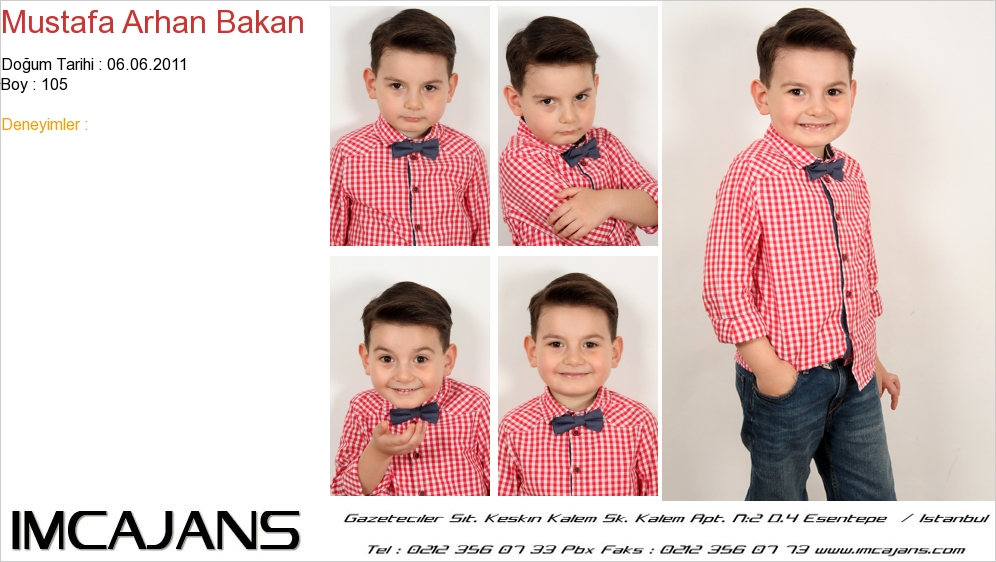 Mustafa Arhan Bakan - IMC AJANS