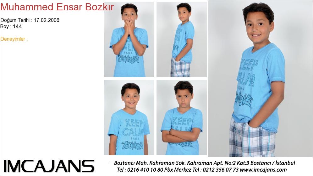 Muhammed Ensar Bozkýr - IMC AJANS