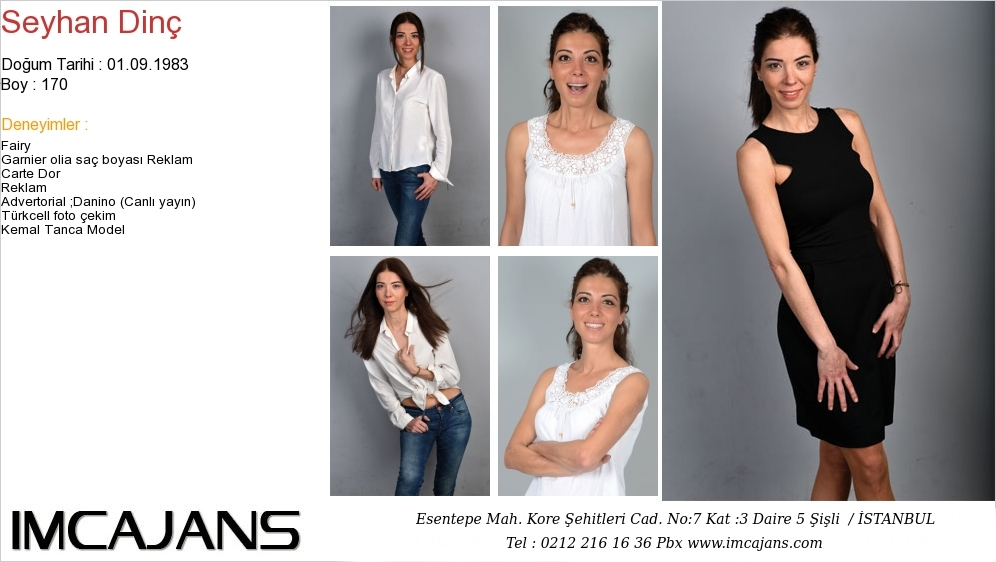 Seyhan Din� - IMC AJANS
