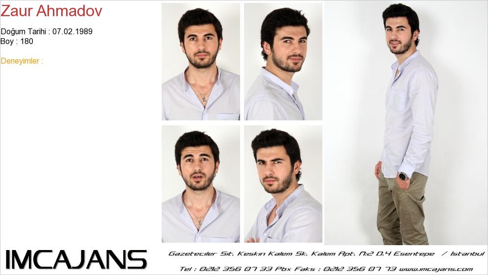Zaur Ahmadov - IMC AJANS