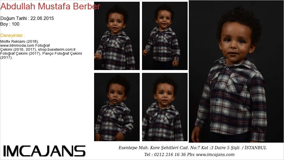 Abdullah Mustafa Berber - IMC AJANS