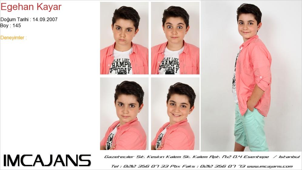 Egehan Kayar - IMC AJANS