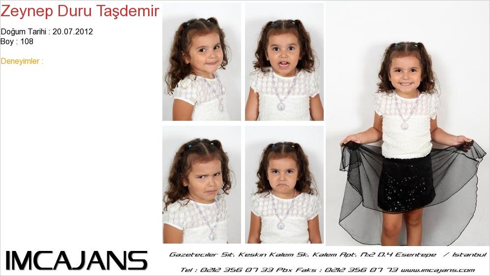Zeynep Duru Ta�demir - IMC AJANS