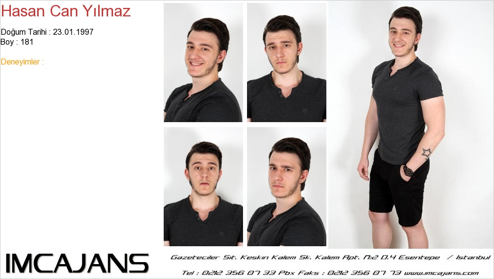 Hasan Can Yýlmaz - IMC AJANS